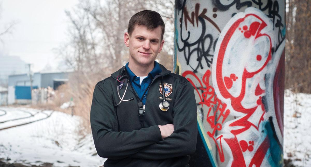 Dave Johnson , Hennepin County community paramedic