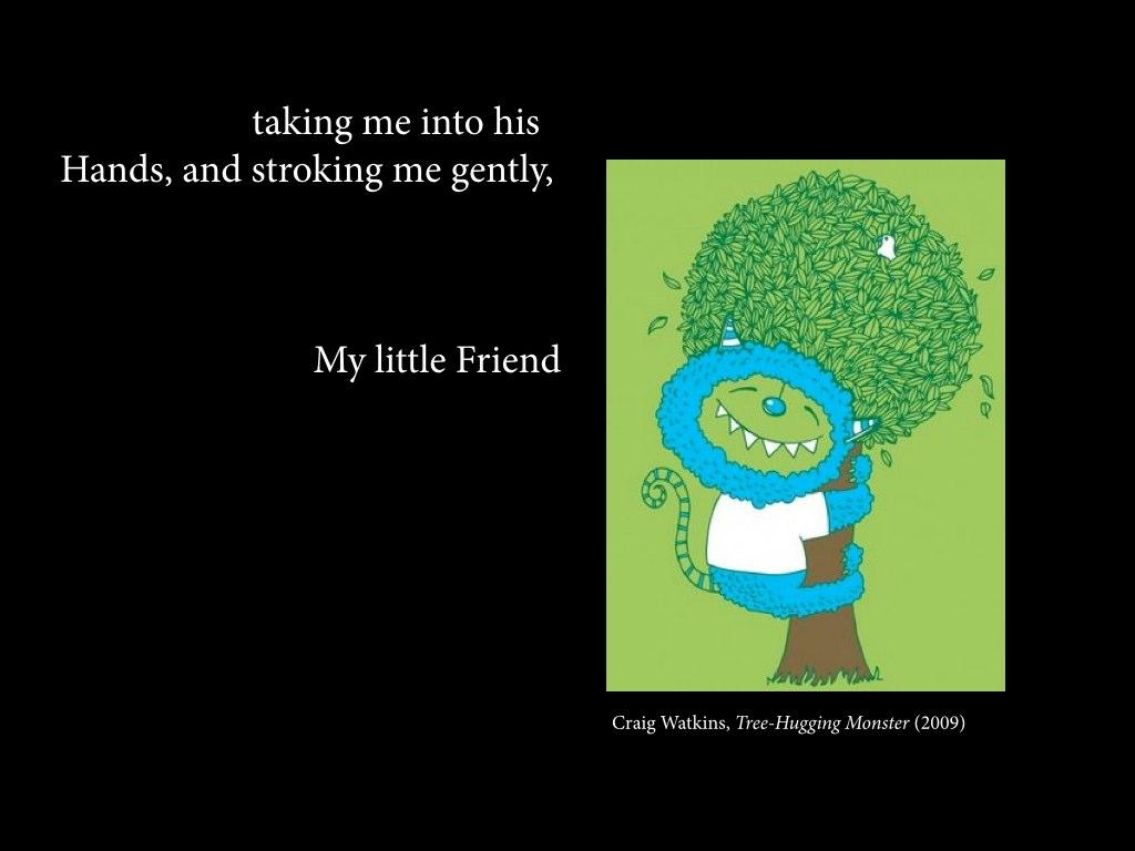 Craig Watkins,  Tree-Hugging Monster  (2009)
