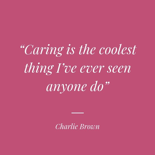 😃 😊 😆 . . . . #caringquotes #charliebrown #positivequotes #positivevibes #quotestoliveby #quoteoftheday #bekindtooneanother