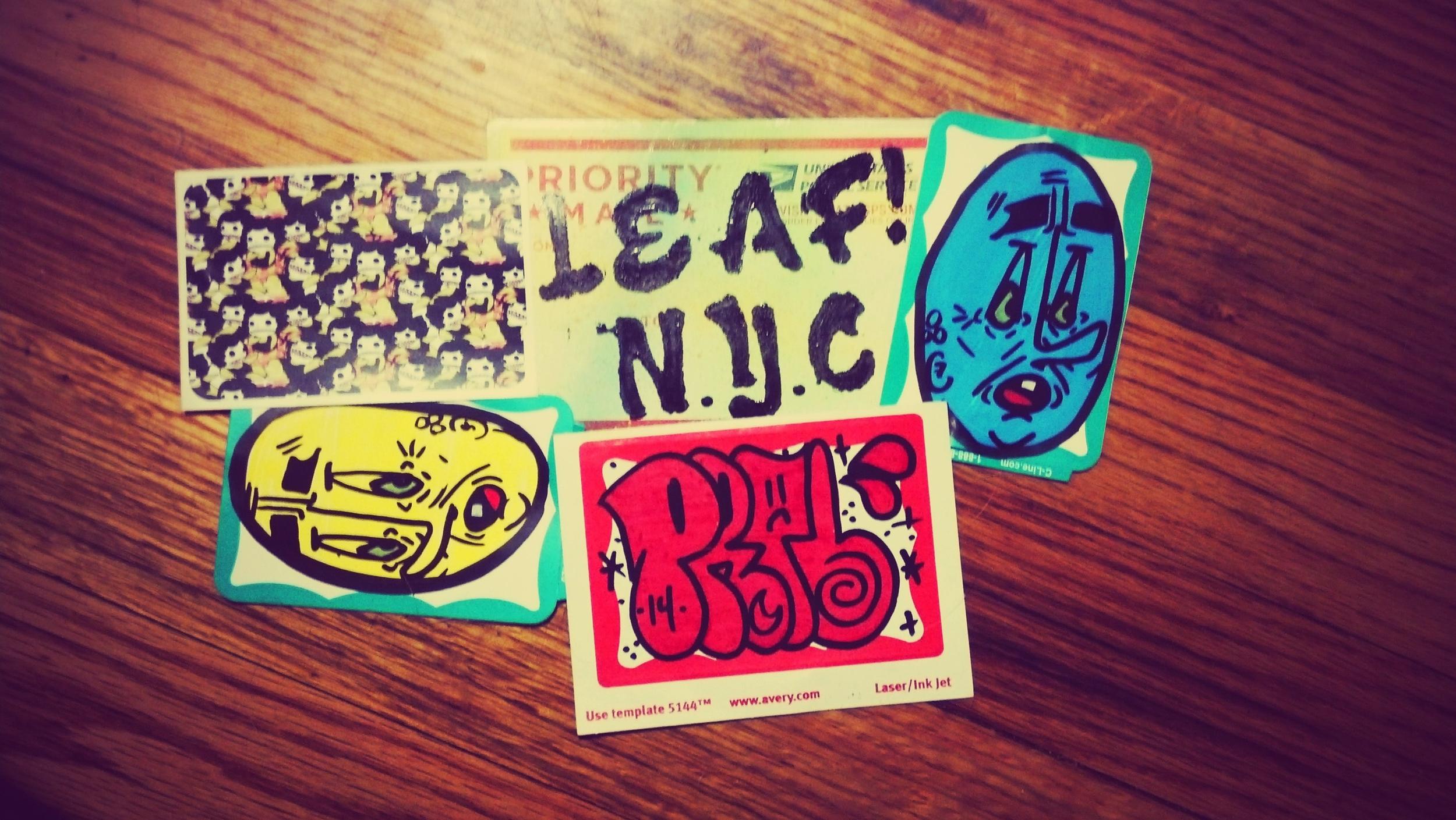 JCORP, LEAF & PRTB sticker's
