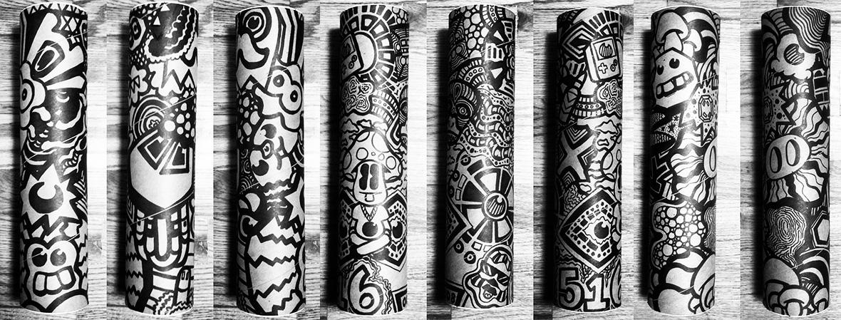 ALBOE ART TUBE ART