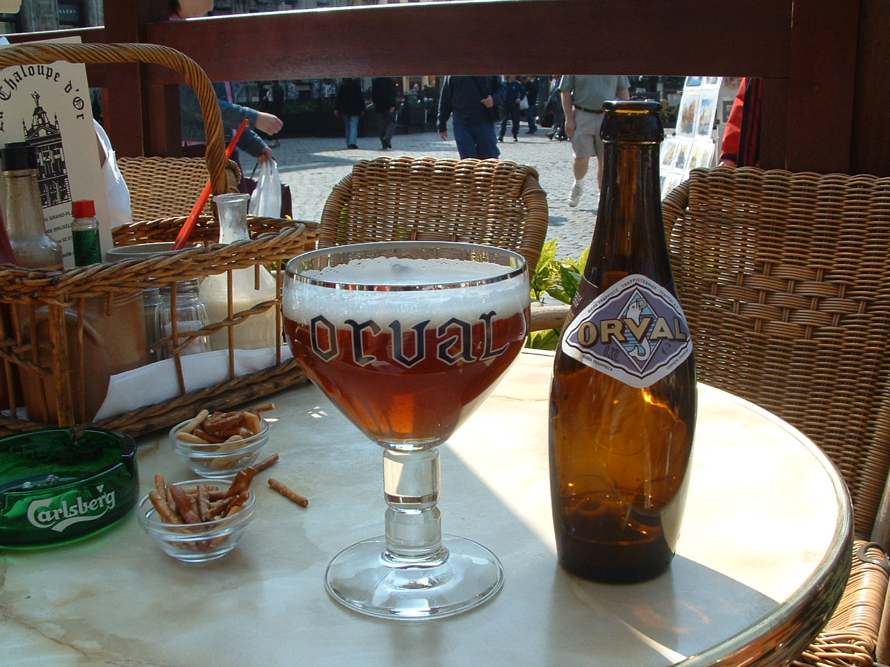Belgium beer via morguefile