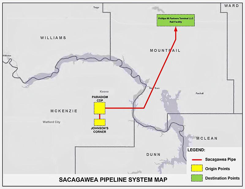 ( Sacagawea Pipeline Company LLC )