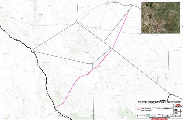 Trans-Peco Pipeline Route   (Energy Transfer)