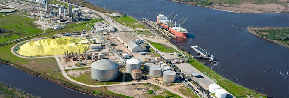 Martin Midstream crude terminal (  Martin Midstream Partners  )