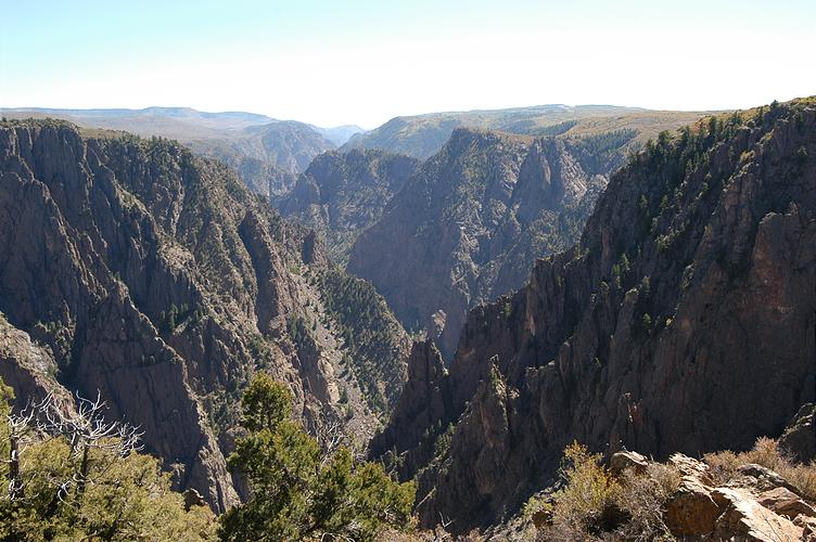 Black Canyon National Park in Gunnison, Colorado. CC BY-SA 3.0, https://commons.wikimedia.org/w/index.php?curid=538346