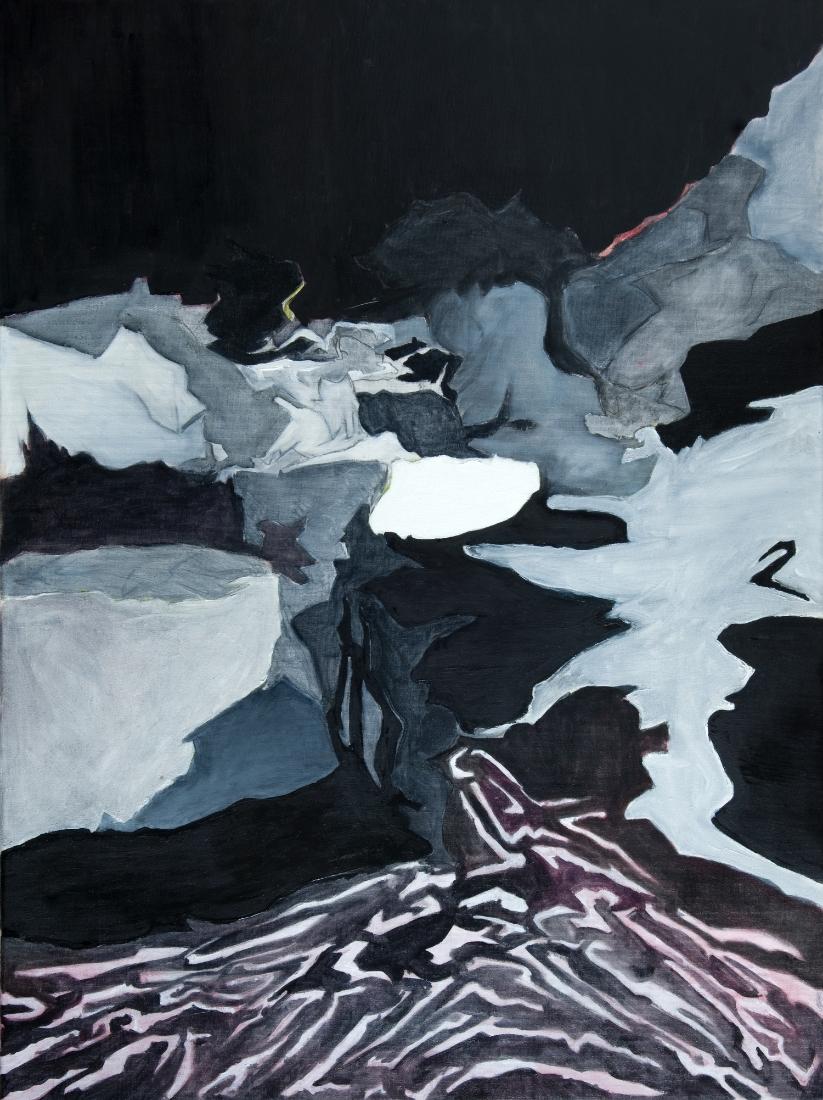 """Darkscape, Oil on canvas, 31.5"""" x 23.5"""""""