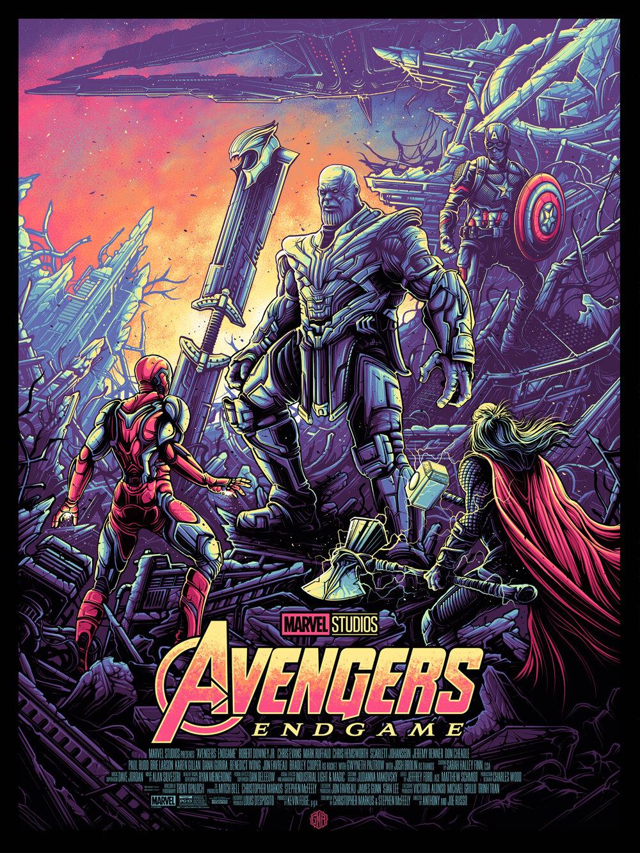 Avengers Infinity War Endgame Dan Mumford