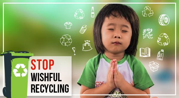 Wishful Recycling   can do more more harm than good. Proper sorting is critical to the recycling process