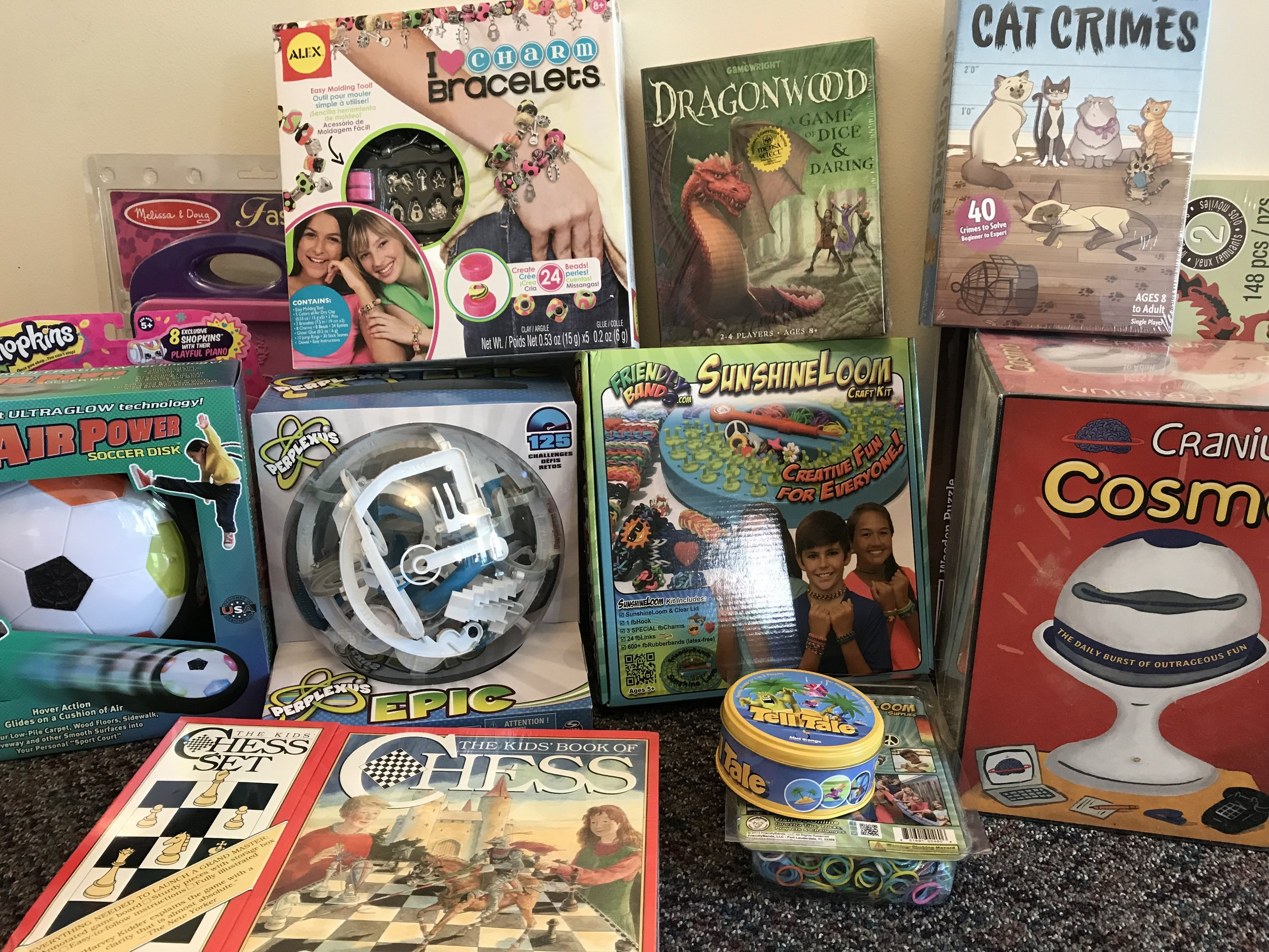 Gently-used toys: R & K Toys