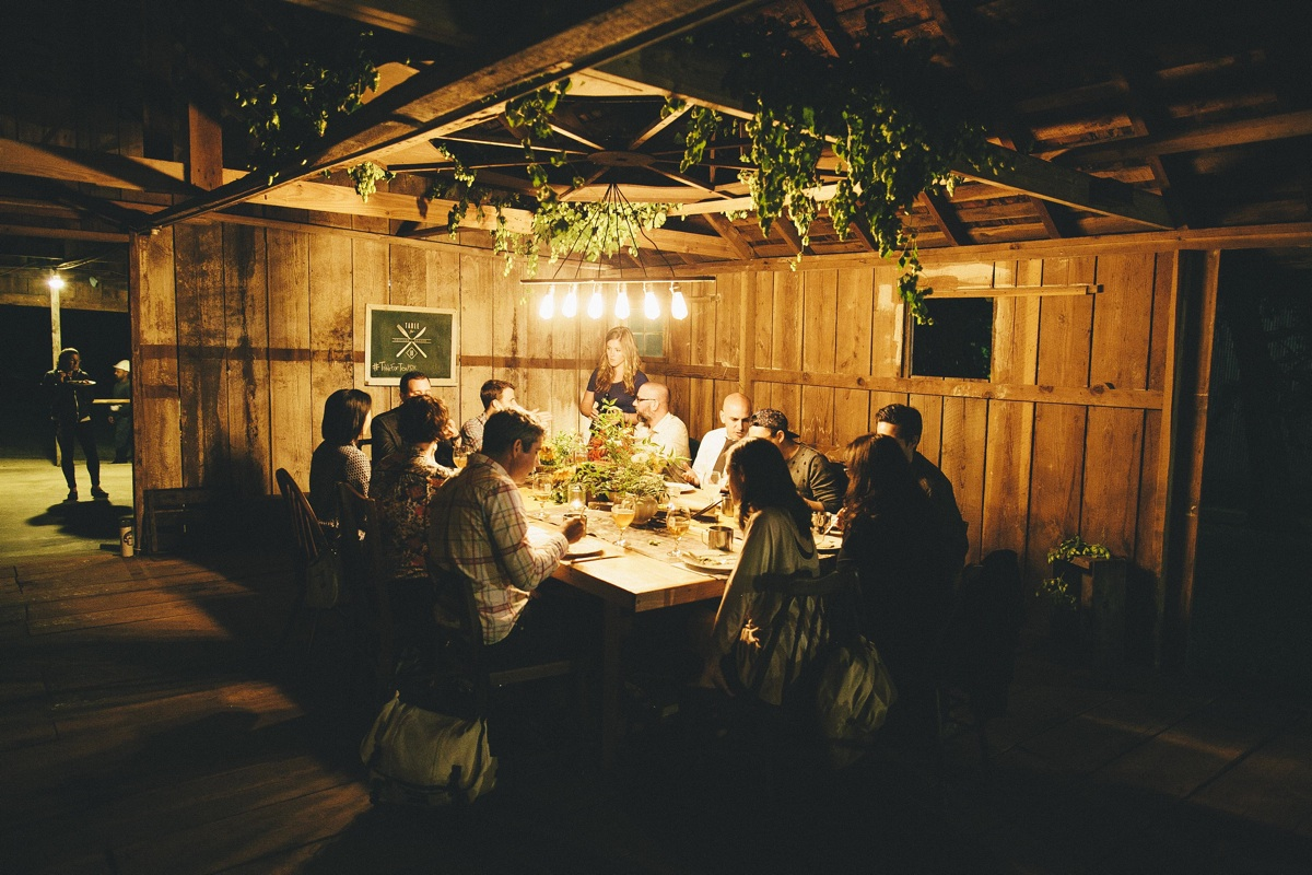 Table for Ten PDX Hop Farm