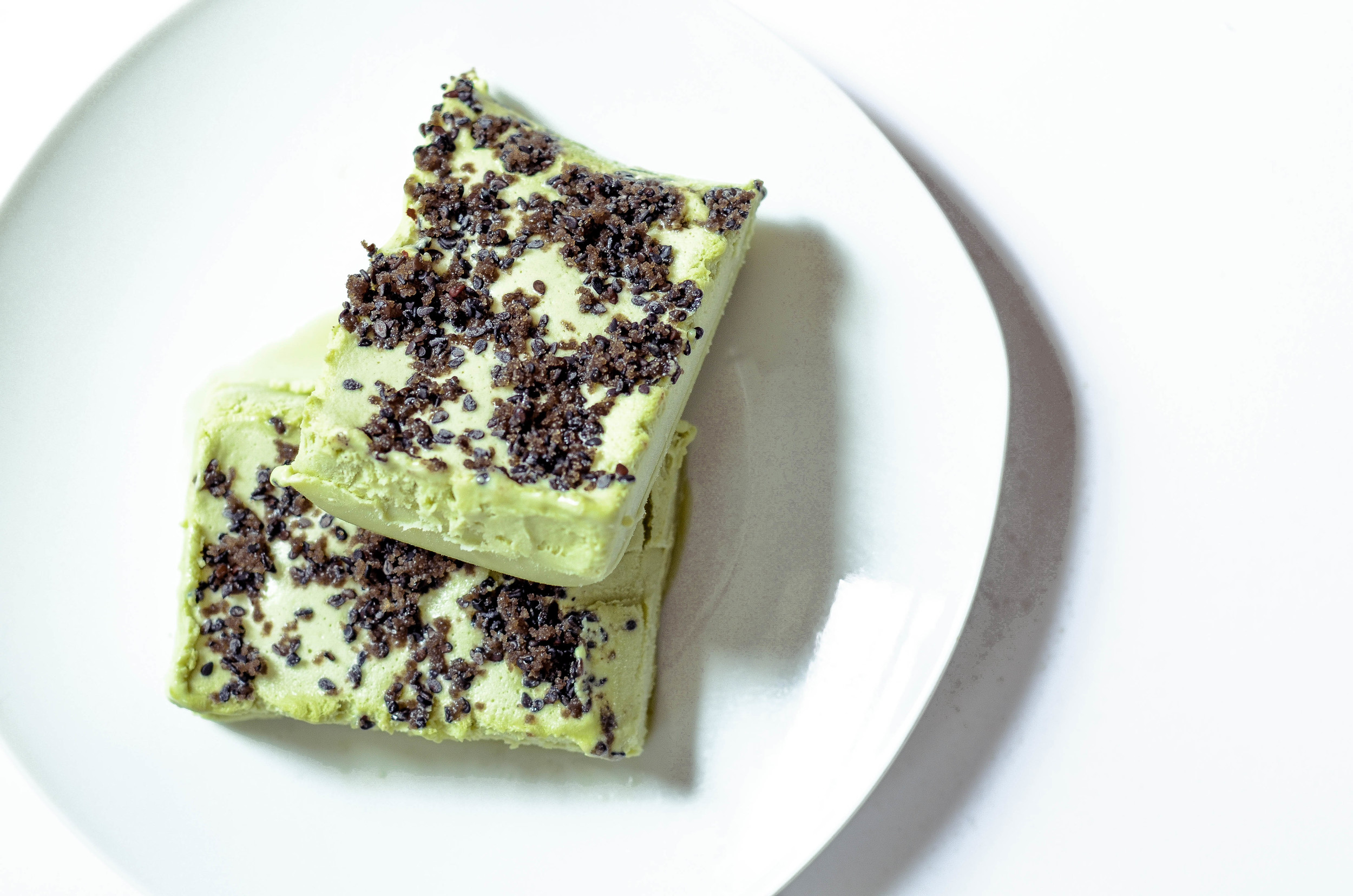 green tea semifreddo