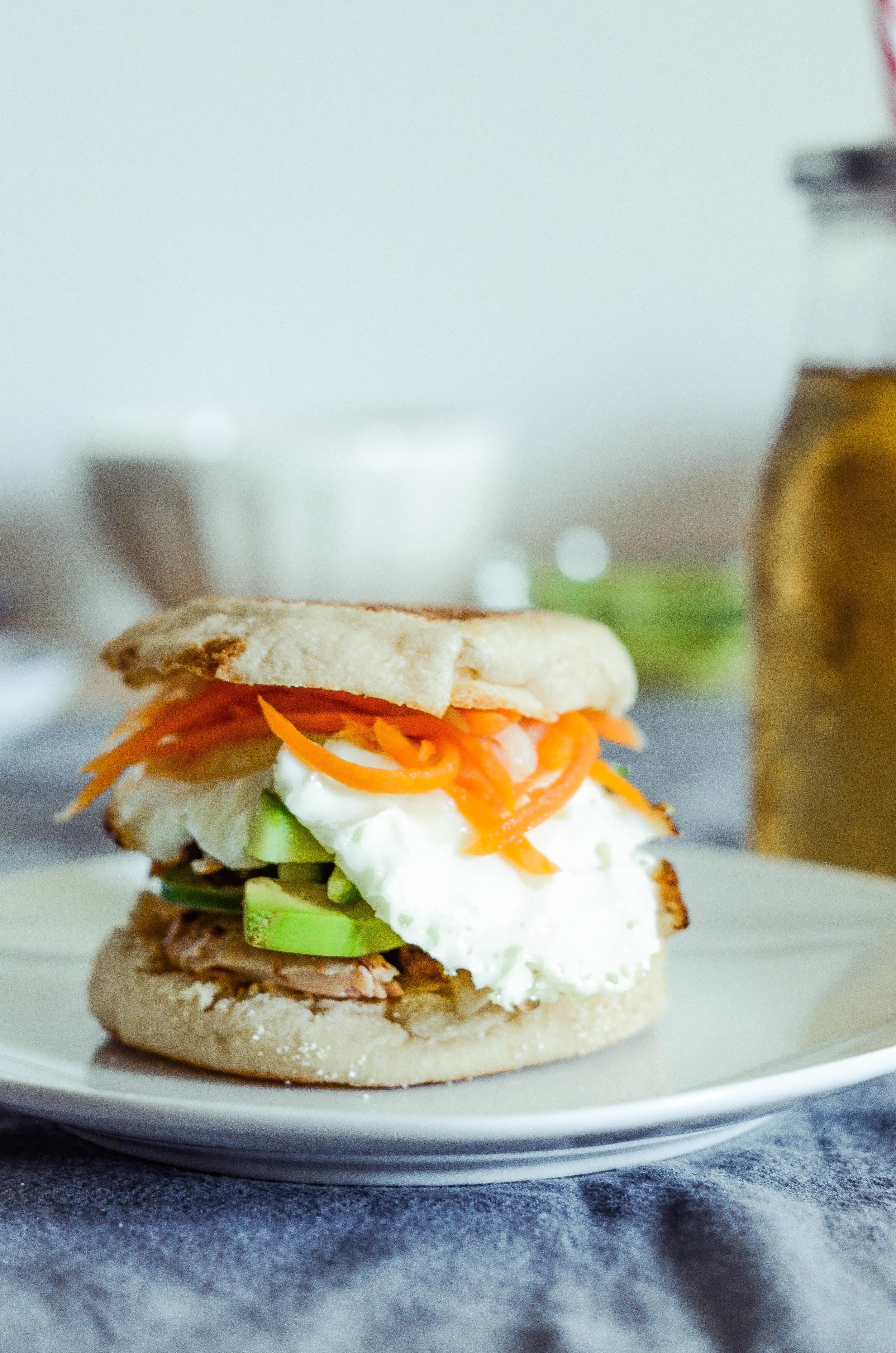 banh mi breakfast sandwich