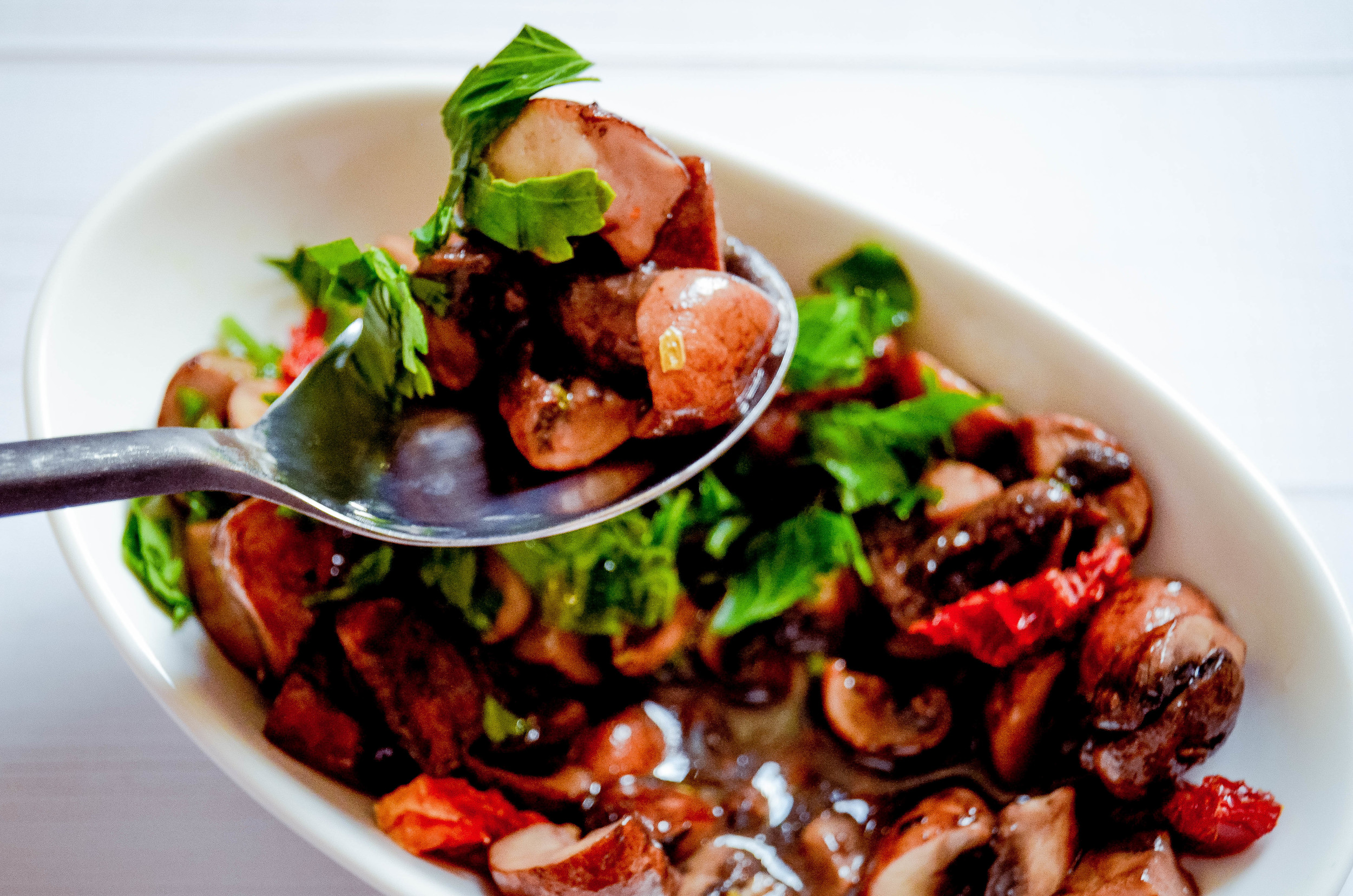 italian mushroom salad