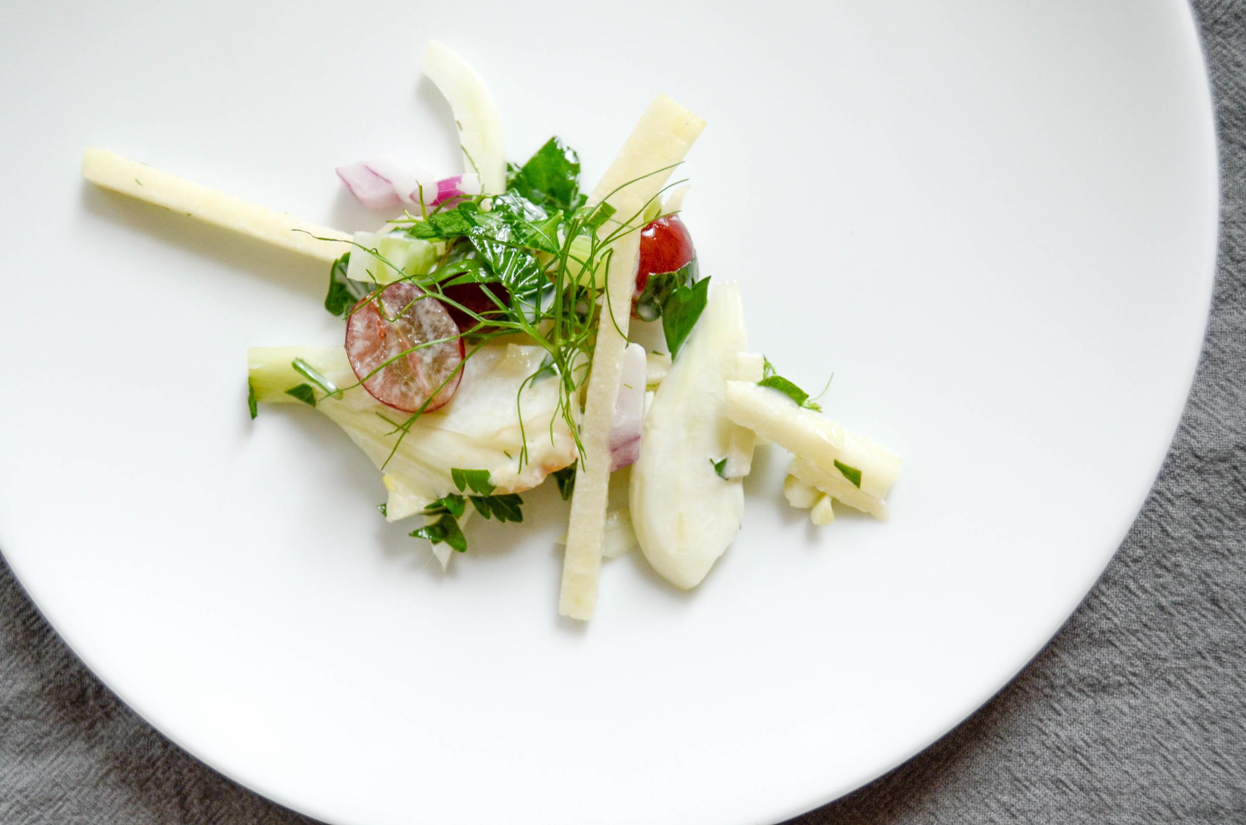 fennel waldorf salad