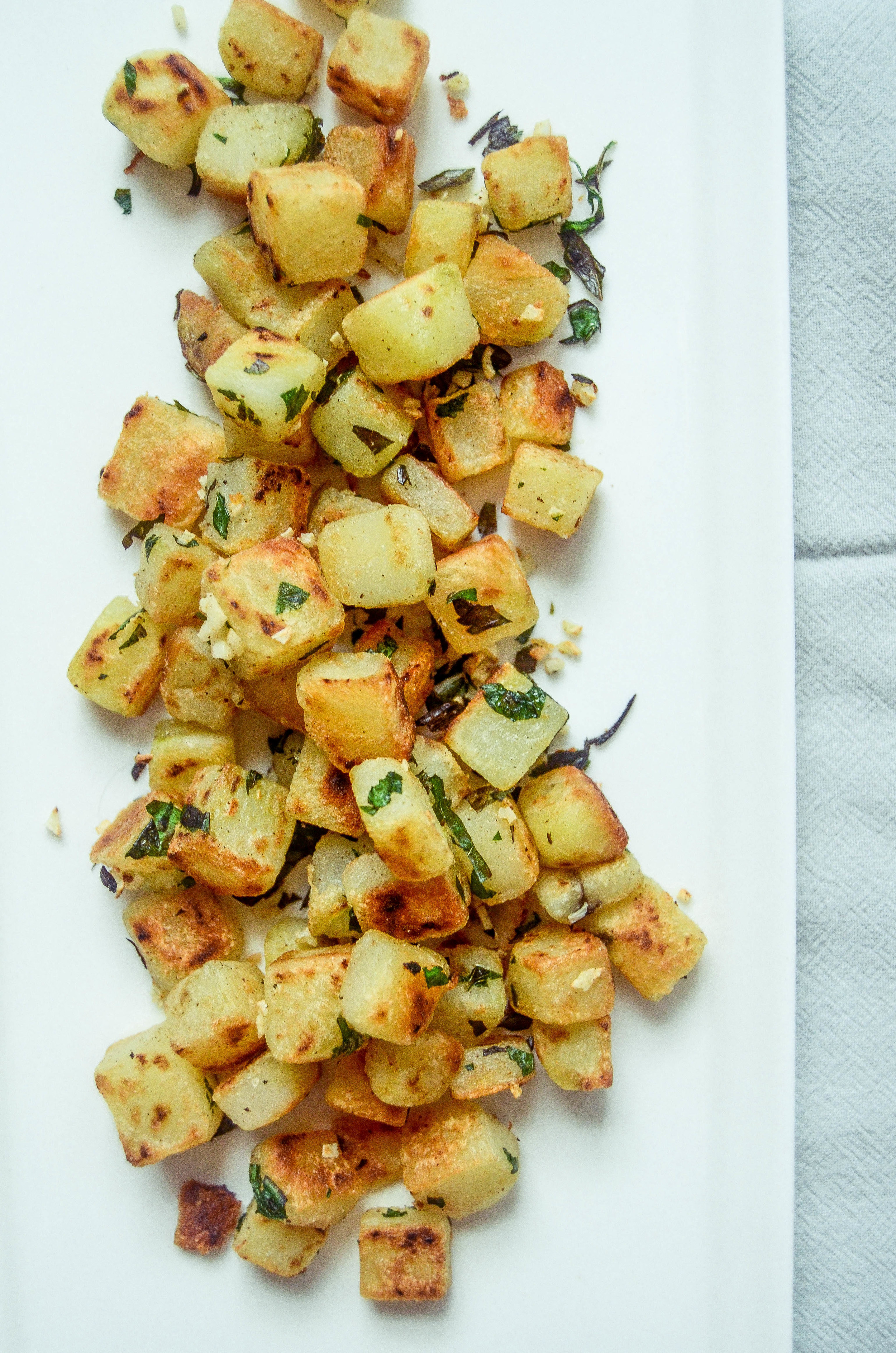 pommes persillade