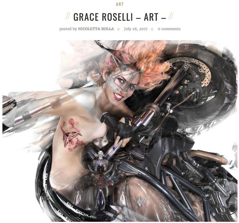 """""""Grace Roselli - Art"""" by Nicoletta Rolla"""