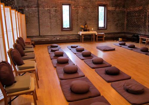 Empty Hand Zen Center zendo