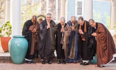 Many expressions of Zen priest - Zenju Manuel, Shosan Austin, Konin Cardenas, Kiku Lehnherr, Josho Phelan, Keiryu Shutt