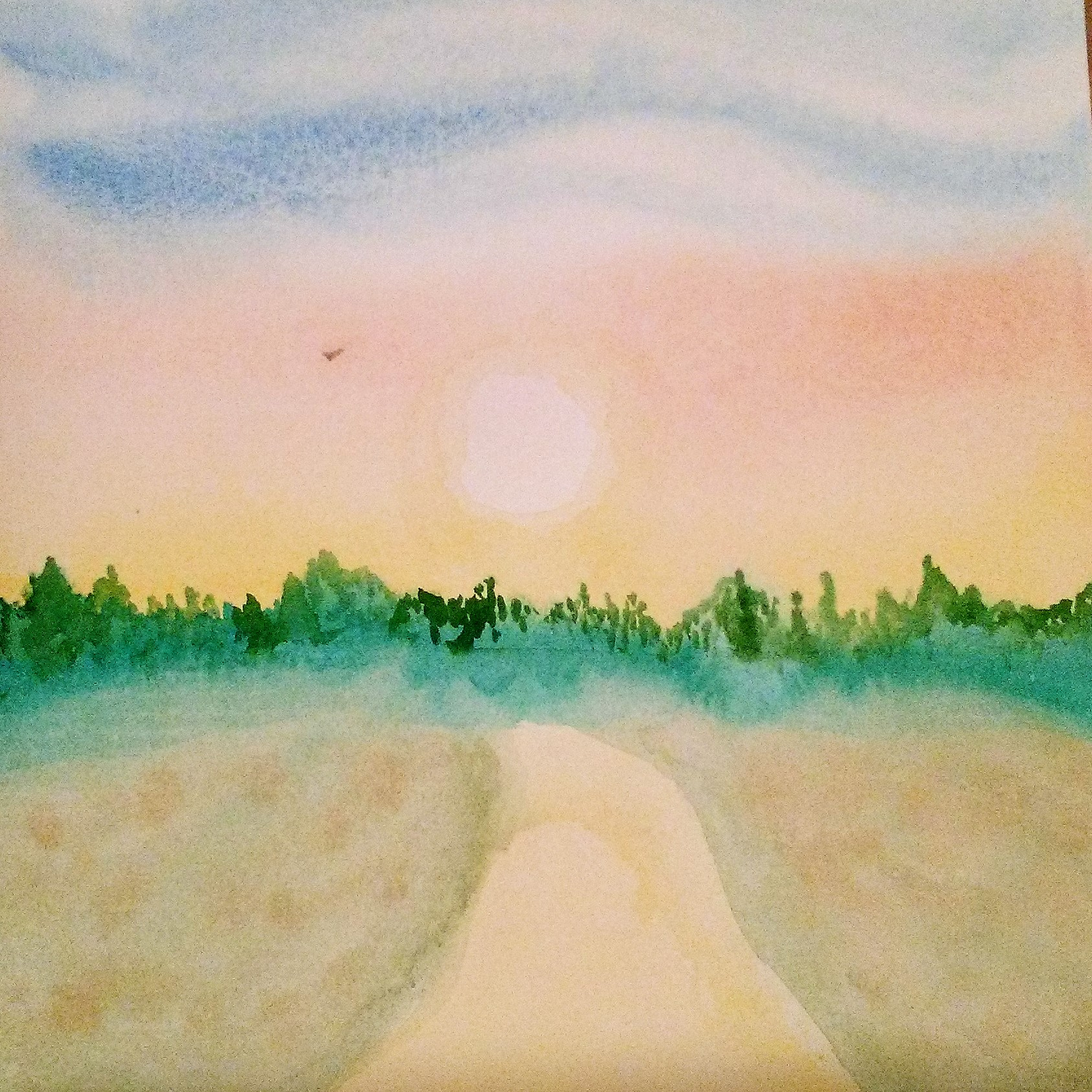 watercolor 20190709_the Path.jpg