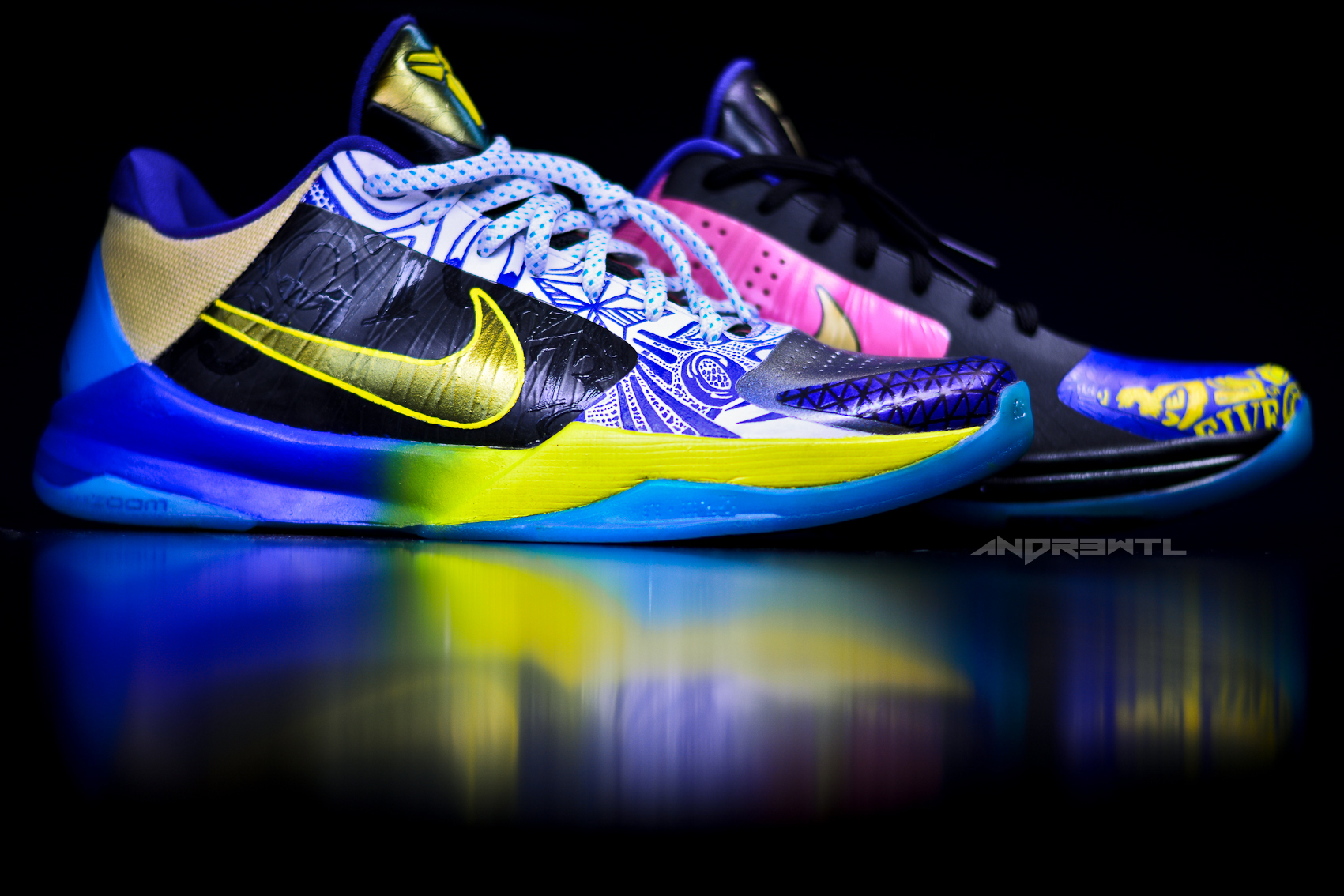What The Kobe V (Right Shoe)