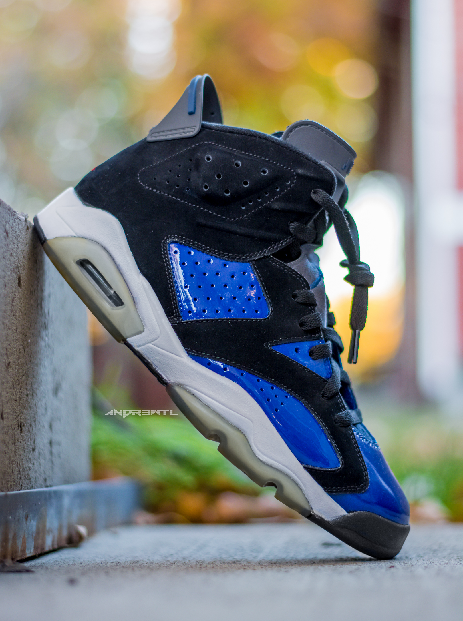 Blue Magic Jordan VI