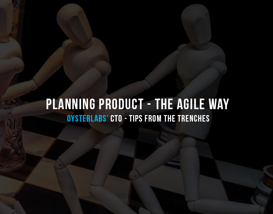 "Planning Software Product - The Agile Way  Tips from the Trenches  Your company (a startup, small company, or a division of a larger company) decided to build a new software product. You are in charge. What's your first move?  Naturally (of course!), you would want to use Agile best practices to manage the process. But ask yourself — do you have enough information to begin? Where would you start? May be start with user stories?  While Agile excels at building software, such processes as companywide product planning and coordination are not directly addressed in the methodology.  As a result, ""simple"" questions like ""How long will it take to build the product"" or ""What functionality will be implemented in Release 1"" often answered by long explanation on how Agile works without providing specifics needed for other branches of the company. Which of course is not particularly helpful for Marketing and Sales as they prepare for product marketing campaigns and launch!  Here's approach that worked for me in the past to ease at least some of these challenges.  The idea is to start the new product development with the lightweight Planning phase (Agile Product Planning). This phase is dedicated to achieving the following main goals:   Ensuring different parts of the company is on the same page early in the cycle in terms of the product direction and expected functionality  Formulating product vision to ensure all follow up decisions are made with this vision in mind  Outlining constraints such as business milestones and resourcing to ensure appropriate scoping and prioritization   Once the product planning is completed the regular Agile process can start with user stories breakdown, UX work, and technical design/development.   Let's dig deeper into the Planning phase.   To make product planning more reliable it is generally a good idea to start by forming a virtual Product Planning team. The team ideally should include representatives from various departments (think Sales, Marketing, Development, and IT working together!).  Try to keep the team small — no more than 6 team members. Oh, and do not forget the Scrum Master — somebody who will coordinate the team's planning effort.  Once the team is formed, the planning can start.  Here are the main points the Product Planning Team should address.   1. What specific problem(s) the product will solve?   Without clear and specific single sentence answer to this question you may have trouble explaining the product value to stakeholders, clients, to your own team, and to yourself!  Remember — you need to excite people about the new product, and having a good answer to this question is a great first step.   2. Who will buy the product?   A good answer to this question is extremely important for 3 reasons:   It forces the team to think beyond the technological coolness of your solution  It allows your business to start targeting future product buyers in parallel with product development.  It may affect release scope and prioritization if the product users are not the same as product buyers (something that's quite possible in enterprise scenarios).    3. Who will use the product?   Knowing who your users are (including their roles) will help you later on with much higher quality user stories. On the business side it will drive marketing and sales targeting.  Remember that buyers and users are not always the same — it is important to understand both.   4. What are the milestones?   Often product must be completed before a well known business deadline, such as a conference where you'd like to announce it, a meeting with investors, a launch by your competitors, etc. Knowing the deadline ahead of time might influence how user stories are prioritized to ensure high quality delivery for that date.   5. Release 1 Functional Outline   Before Product team starts working on user stories, it is important to write down (and accept within Product Planning Team!) a high level Functional Outline of the first version of the product — something you can easily share with stakeholders and customers, and something that sets a common ground for the product within the company.  The outline does not need to be extensive (couple of paragraphs or several bullet points should do it). If written well, it will translate almost directly sentence-by-sentence to user stories later on.   6. Release 1 Estimate   This point is to some extent anti-Agile in nature, however in many cases it cannot be avoided in real life.  Guess what will be the first question from stakeholders once the product functionality is understood. If you guessed ""When is it going to be ready"" — you are right!  Unfortunately in some cases the estimate is required even before user stories are written and estimated by the development team.  To understand a magnitude of work ahead, it is generally good idea to include ""Rough Order of Magnitude"" estimate (ROM) in your planning cycle. ROM estimate assumes very low precision (+- 50%), but it still provides high level understanding of the product development effort: are we talking weeks, months, or years to deliver the product.  The typical practice to come up with ROM estimate:   Use Release 1 Functional Outline as a starting point.  Ask your development team how long it would take them to develop such solution. To make things interesting feel free to cap the time for this answer to 30 mins  Multiply the number developers provided by the ""Team Optimism Level"" (developers tend to underestimate effort 2–3 times in most cases)   The resulting number is the ROM estimate you can share with stakeholders.  Important note — ensure you make it very clear (in writing!) the estimates are preliminary and actual development may take longer or shorter depending on specifics and complexity of the requirements.   7. Beyond Release 1   Understanding what lies beyond Release 1 will help with technical decisions your team making and will reduce future refactoring. Having couple of paragraphs or several bullet points describing post-Release 1 product direction should be sufficient at this stage.  Later on it could be converted to full scale Product Roadmap!   8. Define Technology Stack   Now when developers understand the high level requirements as well as the time constraints, they can come up with a technology stack that fits the requirements and the team expertise.   9. Resourcing   Knowing the ROM estimates, deadlines, and technology stack allows to plan development resources required to deliver the product.  That's it!  The whole process of planning may take from several hours to several days, depending on the complexity of the new product, how well the product idea is formulated, and how aligned the team members are.  It is generally good idea to use agile prioritization techniques to avoid an impasse between the Product Planning team members. See my article on  Ideas Prioritization — Agile Approach  as one of such examples.  Smooth Agile development process from this point on!   Written by Alex Apollonsky CTO at  OysterLabs    Originally Published on  Medium.com"