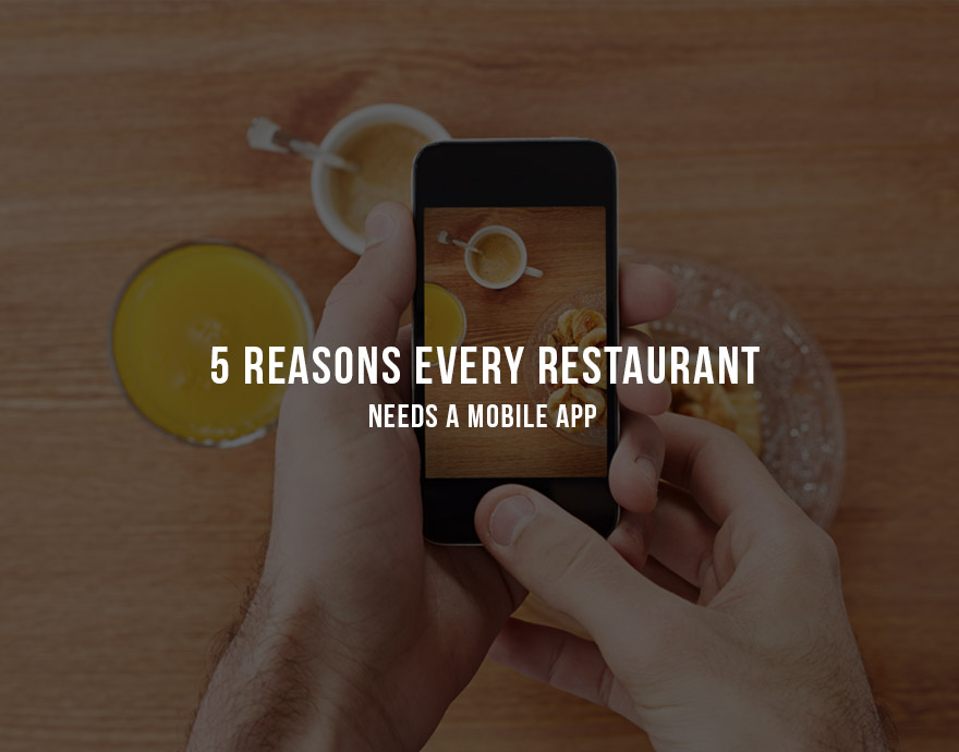 "5 Reasons Every Restaurant Needs a Mobile App    Earlier today Greg wrote about   high-level mobile trends in the restaurant industry  . I've broken down the elements of what makes a successful app and why every restaurant needs a mobile app today.   It wasn't that long ago that many restaurant franchises did without a website.  In the age of phone ordering, drive-throughs, and dining out  a web presence wasn't a must for every chain. Nowadays, just about every major food service brand recognizes the importance of having a desktop and mobile presence, but not all are convinced of the need for a mobile app. Many assume that as long as they are searchable on desktop and mobile, customers won't face ordering constraints and sales won't suffer. But here are five reasons why that thinking is beginning to change:    1. Brand Building    A recent study shows that  95% of independent restaurants lack mobile sites and only 40% have online menus . Modern mobile services such as Yelp, Seamless, GrubHub, and MenuPages have helped to simulate a mobile presence for restaurants such as these, allowing customers to search, place orders, and save purchasing information all via mobile web or app. But restaurants that continue to rely on these services to drive mobile business are ignoring a huge piece of the equation: brand perception. Most consumers intuitively understand why new, small, and non-franchise restaurants tend not to have their own apps. But when it comes to larger restaurant brands, consumers expect a proprietary experience in line with what they get when visiting a physical storefront.   If you've ever bought products from Apple or BestBuy, ask yourself how your perception of those brands would change if you were suddenly forced to interact with them through a third-party service such as Amazon or Overstock. The effect would likely be negative. A brand's marketing and sales funnel ought to be just as proprietary as the products it is selling, which means that restaurants must be mindful of the brand dilution effects when customers are forced to interact through a third-party service. Mobile apps address this by creating a custom brand experience and communication channel on each user's device, so that mobile interaction can be kept in sync with the brand's guiding objectives.    2. Custom Content    Every brand has its own unique lineup of products and promotions. In the restaurant industry these are housed within the menu. Successful brands in every industry put a lot of thought into the presentation and packaging of their products, and restaurants should be no different. Since each restaurant has its own set of products and custom content, it's critical to present product offerings to customers in a brand-specific way rather than relying on external services that may distort or misrepresent that information.    3. Social Engagement    There's an old saying in the restaurant industry that good business means having repeat customers. In truth that's only half the puzzle; a restaurant that has just two or three repeat customers most likely isn't doing very good business, regardless of its per-customer margins. The real key is to have a large and continuously growing base of repeat customers. In today's social media-driven world, that means enabling customers to talk about brands in easy, fun, and brand-specific ways on their mobile devices. Even the most enthusiastic customer typically won't take it upon herself to start a discussion about a brand, but a well-executed mobile app can turn that issue into an advantage.   With integrated functionality from Facebook, Twitter, Foursquare and other popular social services, mobile apps can subtly encourage customers to share favorite meals, store locations, deals, and more. This type of behavior becomes a non-intrusive part of the brand experience and contributes to the social ""snowball effect,"" in which a brand can expand its user base increasingly quickly over time through social activity that is tied into the mobile experience.    4. Audience Targeting    These days, everyone is on the go. Deals and promotions have long been a staple marketing tactic for restaurants, but we live in an age in which it's not good enough just to reach customers; brands need to reach customers at the right  time  and  place . Consider the difference between the following scenarios: 1) Restaurant X sends a promotion to Jane's mobile device when she is sitting at home on her couch, versus 2) Restaurant Y sends Jane a promotion when she is driving her kids home from school past one of their storefronts. Most people would agree that Restaurant Y has a better chance of winning Jane's business. Why? Because Jane is in a better position to buy when she receives Restaurant Y's offer.   New mobile marketing solutions such as  OysterLabs' AQUA  facilitate precision geo-targeting and campaign scheduling to ensure that offers reach customers where and when they are most likely to engage. Boosting sales is about maximizing the conversion probability of each customer, and those results can only be achieved with a custom mobile app supported by a campaign-ready CRM tool with built-in geo-targeting and scheduling capabilities.     5. Customer Loyalty    If the restaurant industry didn't coin the phrase, ""Keep them coming back for more,"" then it's certainly an apt description of every restaurant's objective. Loyalty cards, coupons, and rewards have long been the linchpin of customer loyalty, but nowadays consumers expect to interact with their favorite brands through their mobile devices and without having to keep track of physical media. Delivering loyalty offers to customers on mobile not only enhances the appeal of the brand but also encourages repeat business by offering tangible rewards for future purchases.   Mobile loyalty offers can also help restaurant brands convert low or zero-revenue segments of their audience into customers. Social media enables just about anyone to follow and promote a brand, but those users may not all be making purchases or otherwise contributing to revenue.    A well-executed mobile loyalty program can convert a user's social currency into brand currency, which in turn can allow brands to turn social supporters into revenue-generating customers."