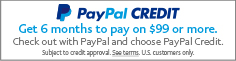 Your transaction is secure with PayPal!