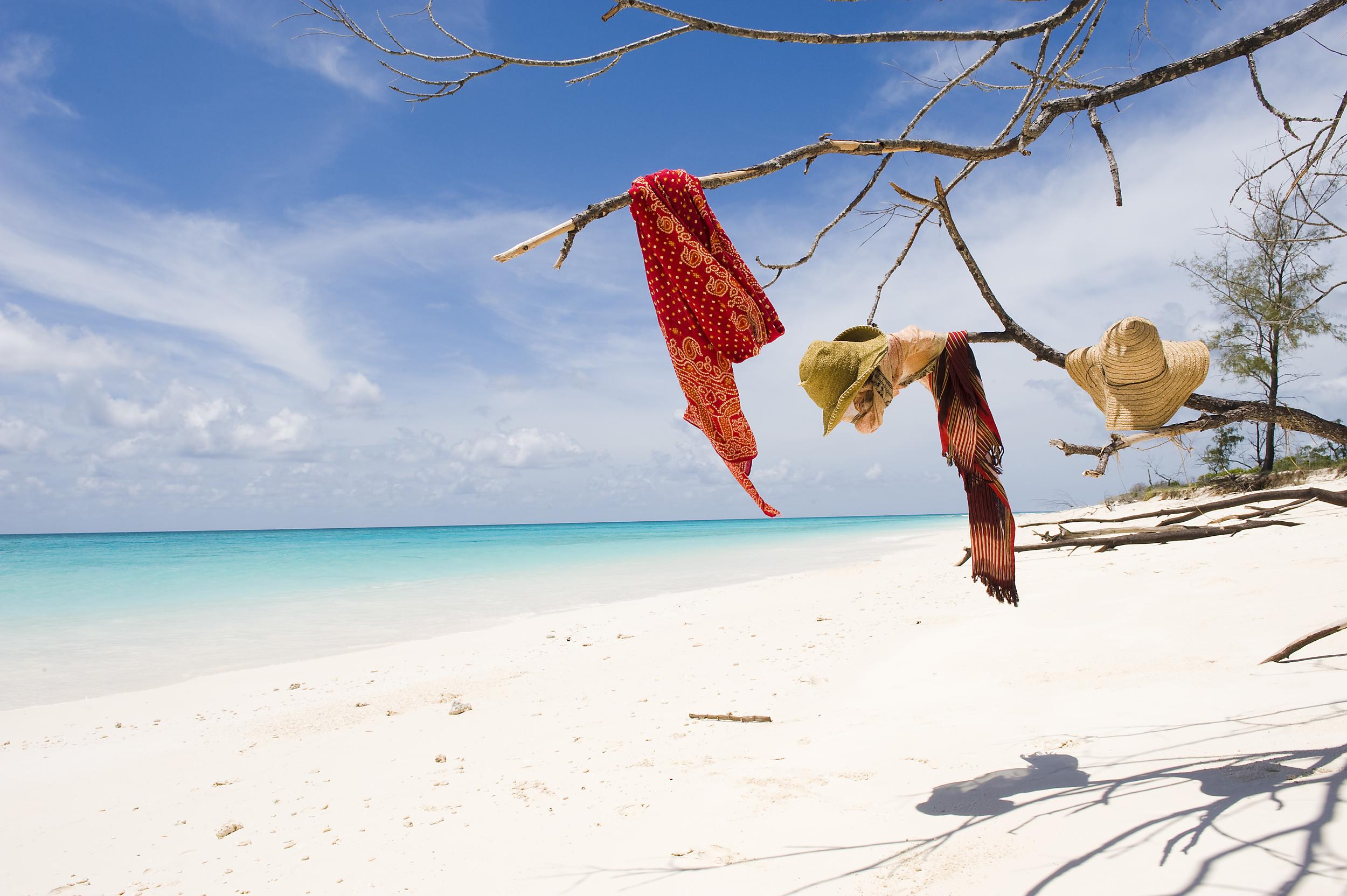 Vamizi Island - BeachWithKikoiKangaAndHatDetail.jpg