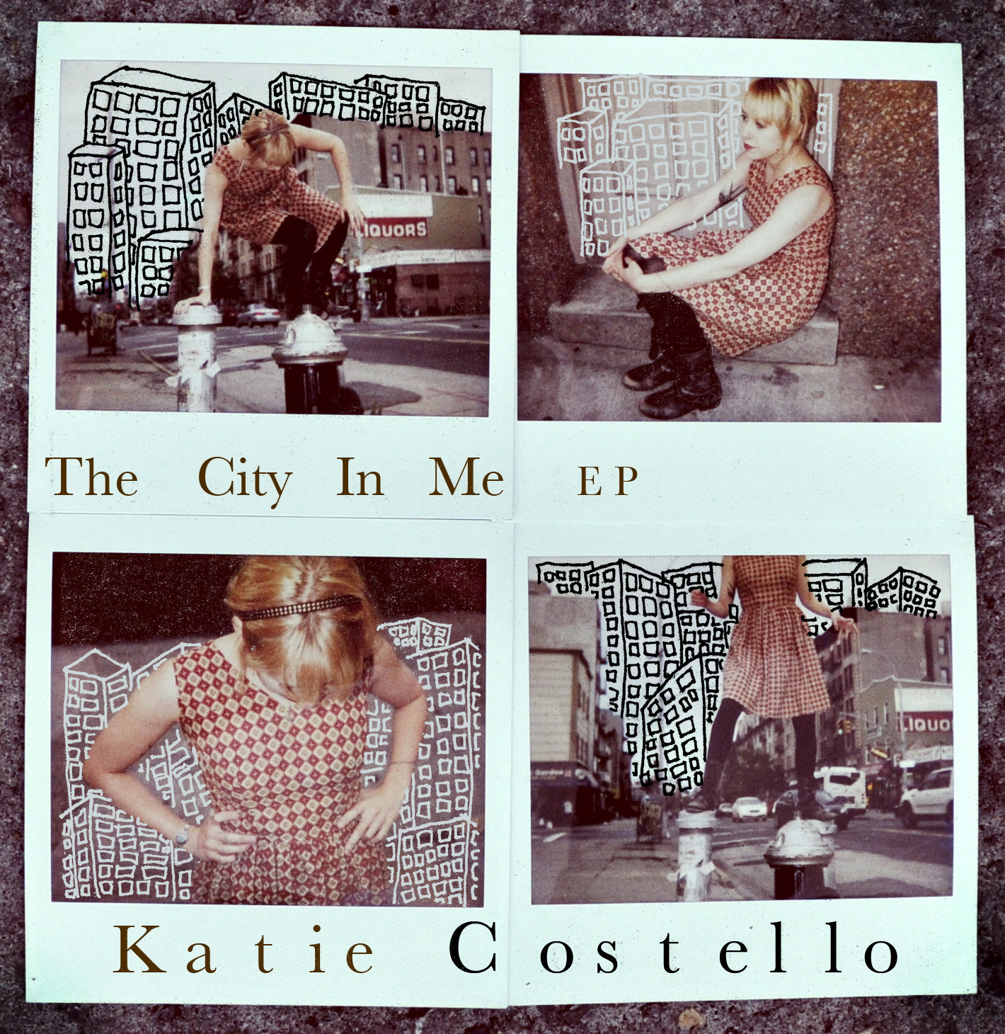The City In Me - EP      1 We Are The Way We Are  2 Lost & Far From Home  3 Cityscapes  4 Ships In The Night  5 How Do We Know      © Katie Costello |   REBEL POP Records | 2010 | All Rights Reserved