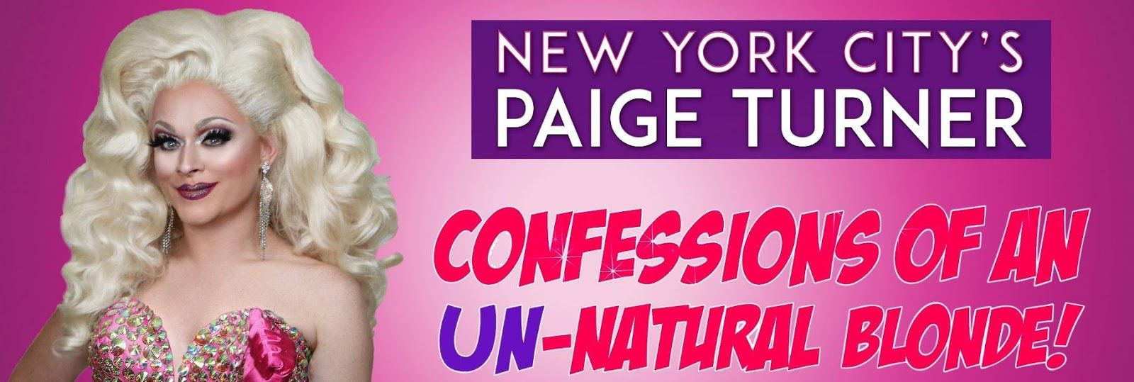 Confessions of an Un-Natural Blonde Paige Turner