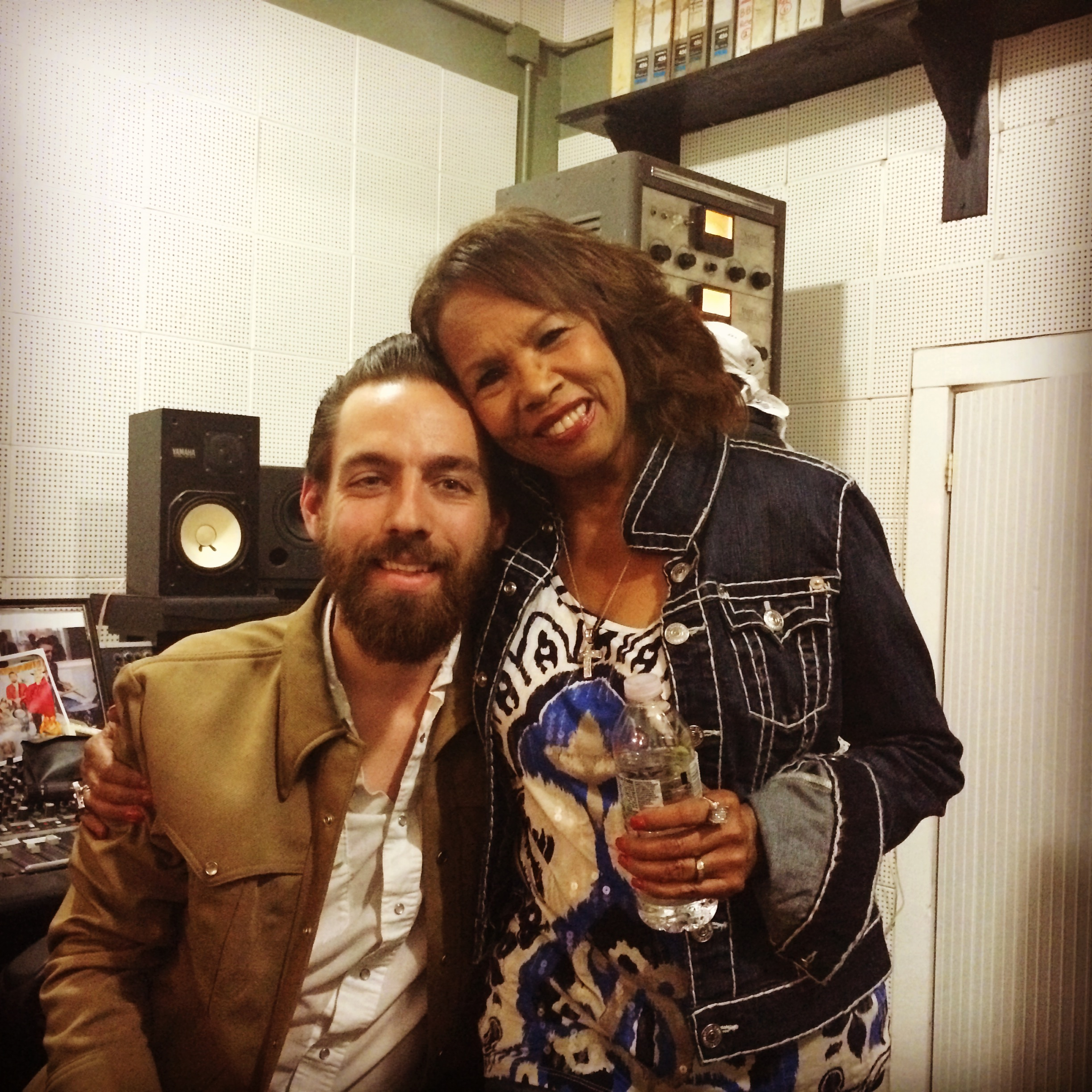 Matt Ross-Spang and the amazing Candi Staton!!
