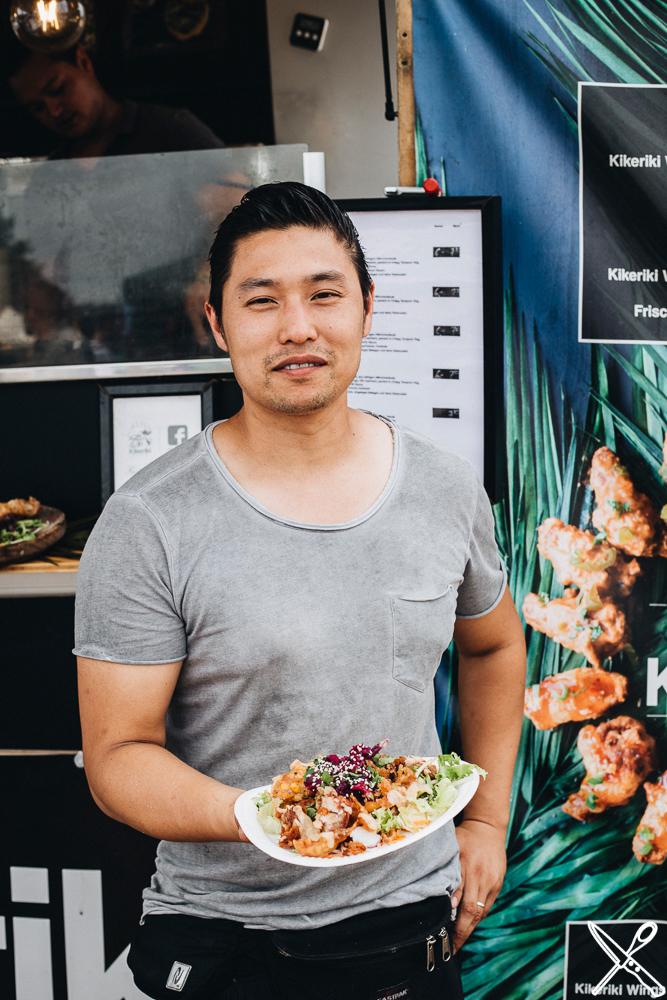 Street Food Anbieter Kikeriki