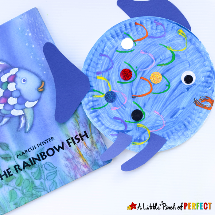 http://alittlepinchofperfect.com/paper-plate-fish-craft-inspired-rainbow-fish/