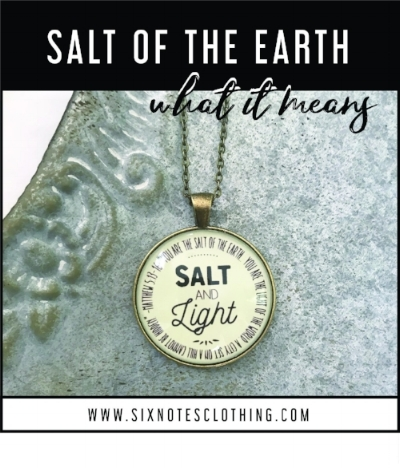 The Meaning of Salt In The Bible — six notes clothing