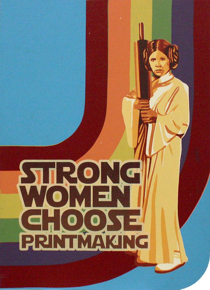 Printmaking is My Destiny V.2