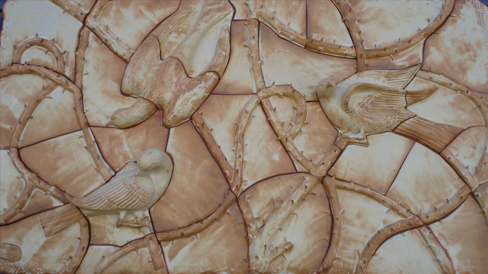 Porcelain Clay with Yellow Salt Glaze