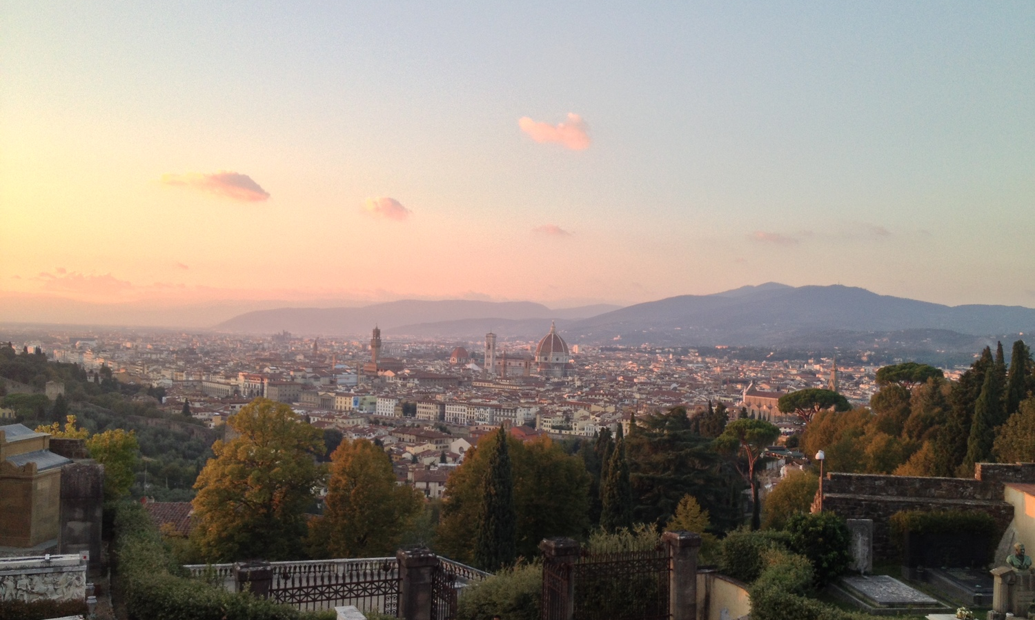 View of Florence from Piazza Michelangelo