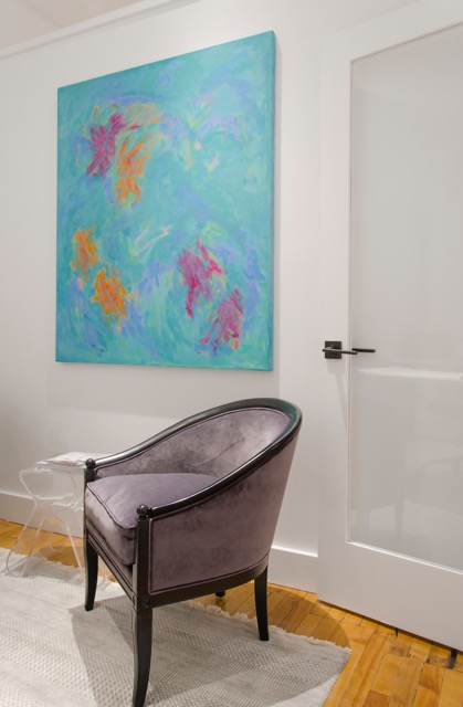 Restored Chair, Pinney Designs Studio.