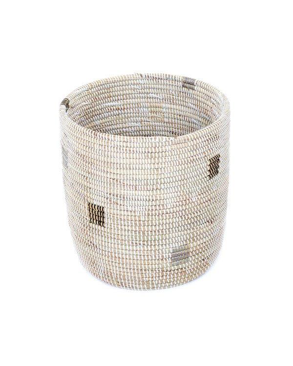 Tall White Pixel Basket .jpg