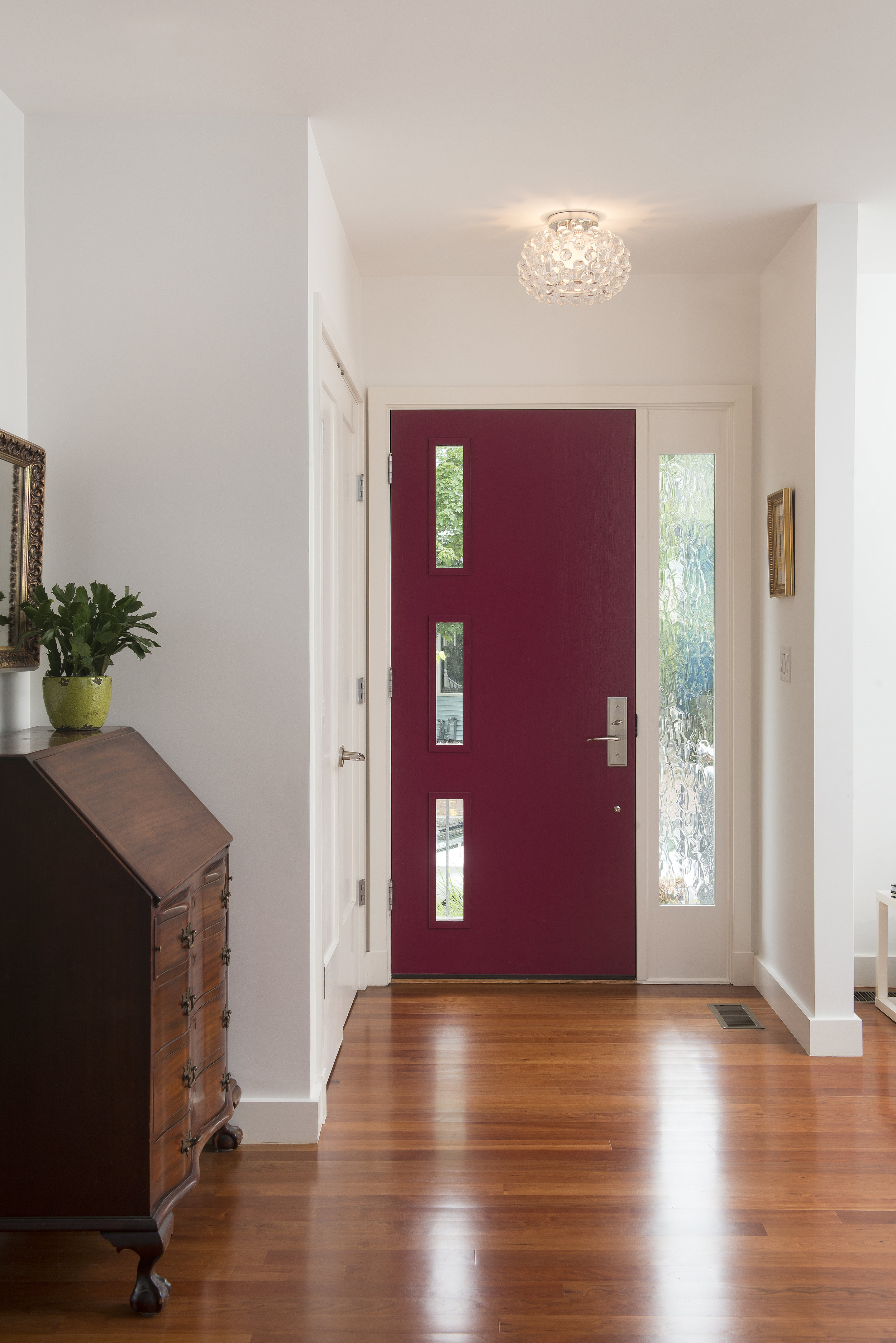 Front entry at our Cambridgeport Project