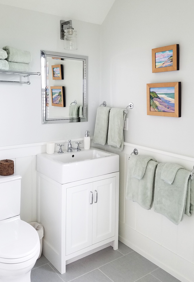 Nantucket Project, Guest Bath