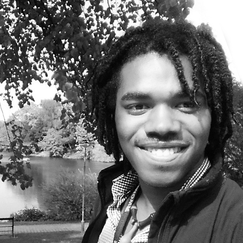 """Nkosi Nkululeko   Nkosi Nkululeko is New York City's 2016 youth poet laureate and the author of """"Sharp-Edged Vernacular"""" and """"How It Sounded to Squish a Cockroach.""""   Twitter: @musicman_nkosi"""