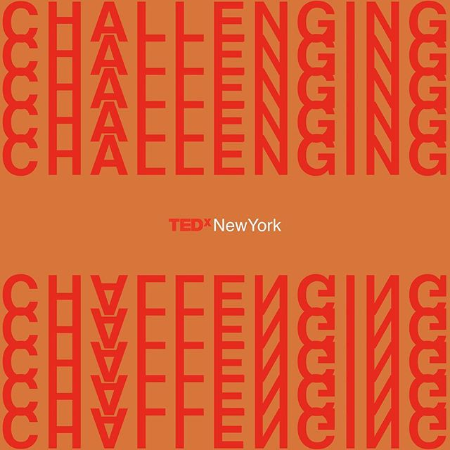 CHALLENGING ______? Very soon, we'll be announcing the 2019 #TEDxNewYork speaker theme! Tag a friend (and take a guess) in the comments below for your chance to win 2 tickets to this year's event!