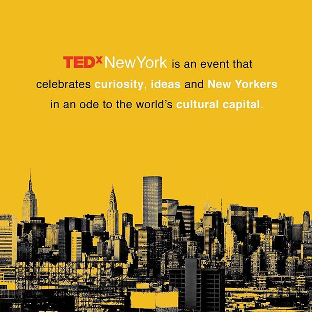 In 2019 we're bringing you a #TEDxNewYork event that celebrates everything that makes New York unique. #StayTuned
