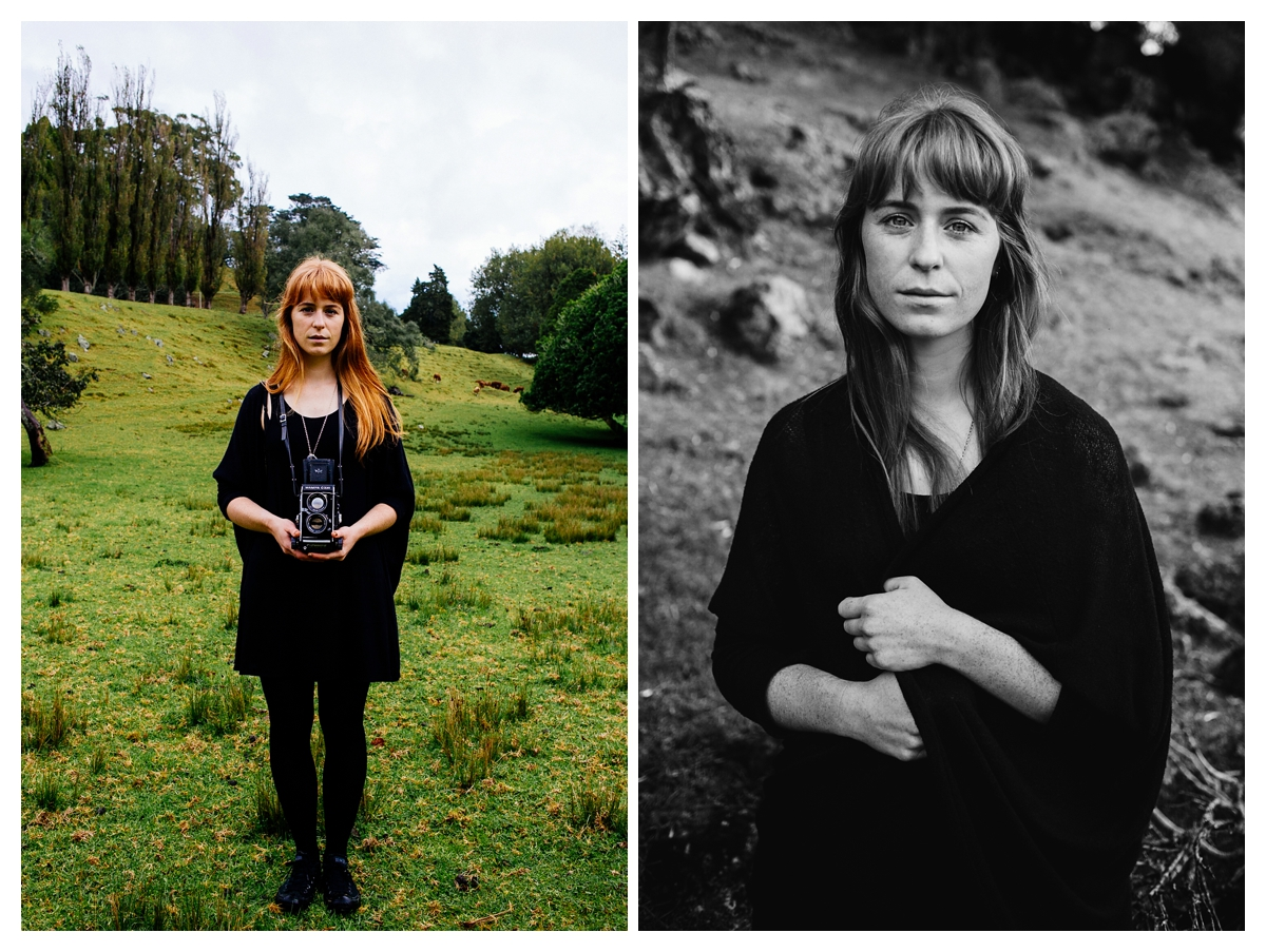 ellen richardson dawn chapman photography auckland, rainy portraits cornwall park vsco film