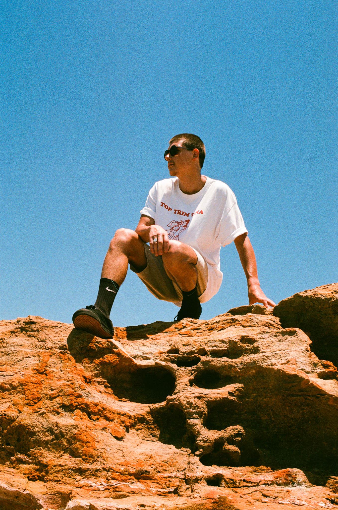 Mark on the Rocks