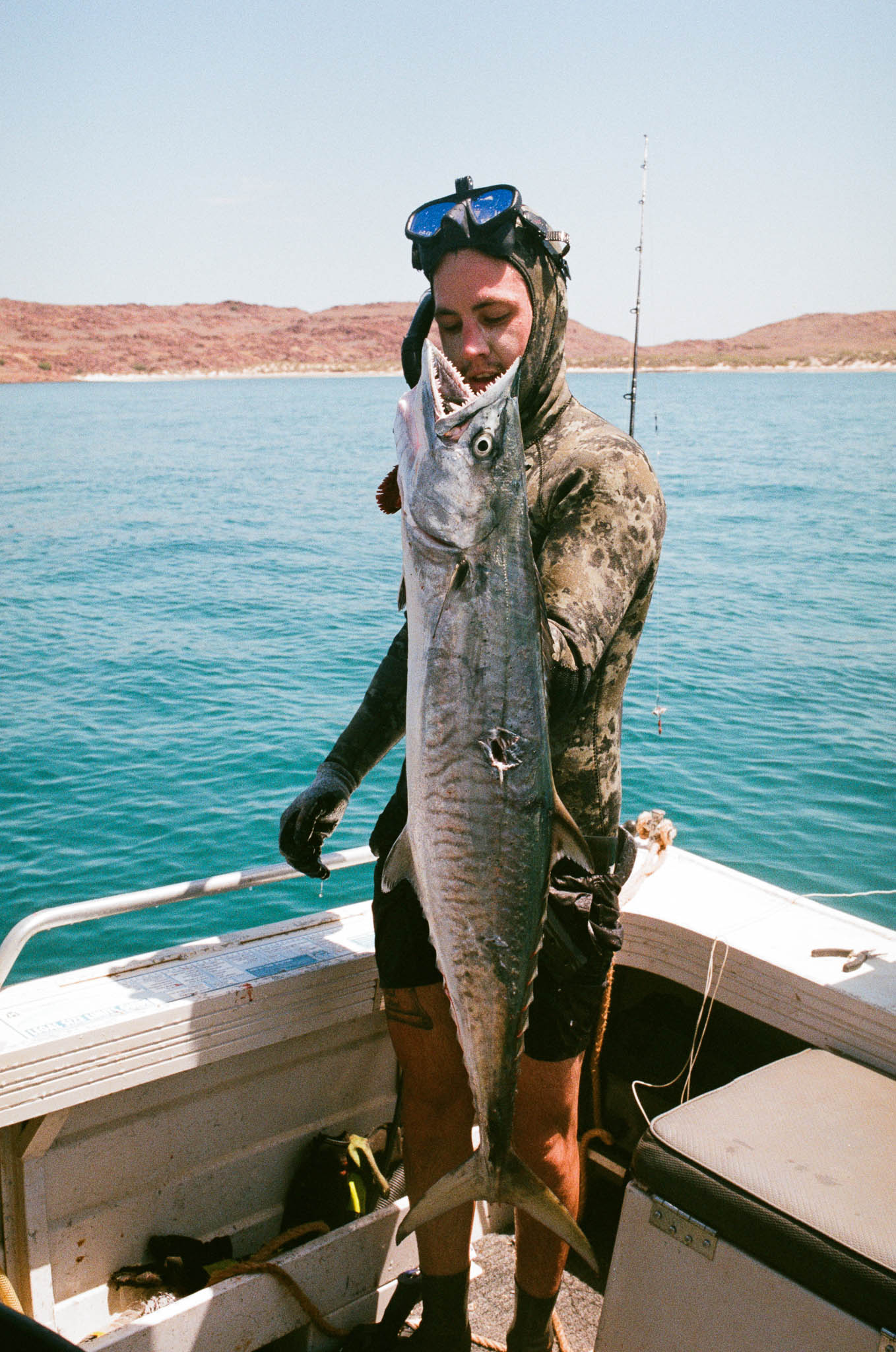 Adam with Mackerel