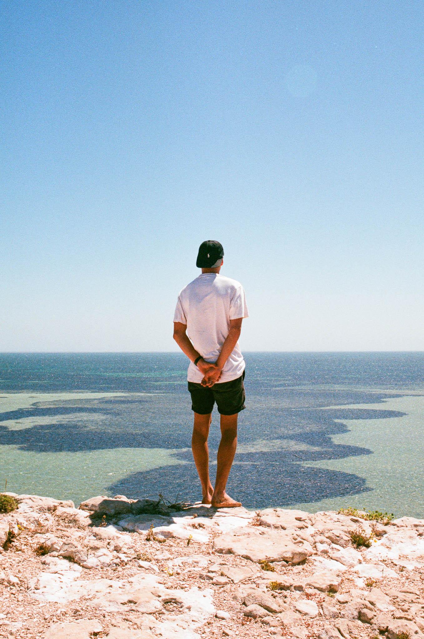 Mark at Shark Bay